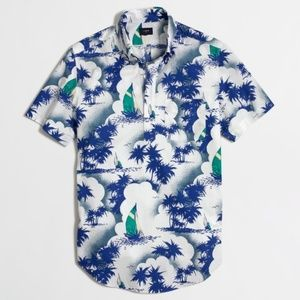 Men's J.Crew Short-Sleeve Sailboat Popover Shirt